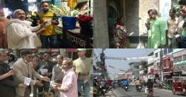 জমে উঠেছে জয়পুরহাট পৌরসভার নির্বাচনী প্রচারণা