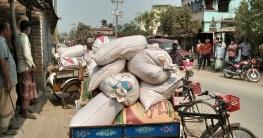 জয়পুরহাটে ব্যবসায়ীর গোডাউনে থেকে খাদ্যবান্ধব কর্মসুচীর চাল উদ্ধার