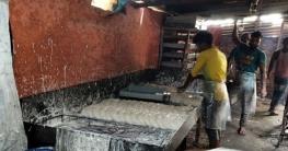 আক্কেলপুরে অস্বাস্থ্যকর পরিবেশে সেমাই তৈরির দায়ে জরিমানা