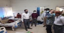 ক্ষেতলাল উপজেলা স্বাস্থ্য কমপ্লেক্স পরিদর্শন করেন সিভিল সার্জন