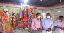 আক্কেলপুরে ৩৮টি মন্ডপে চলছে দূর্গাপূজা